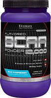 BCAA (Разветвленные Цепи Аминокислот) 12000, Вкус Голубой Малины, Ultimate Nutrition, 1 фунт (454гр)