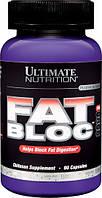 Блокатор Жиров, Fat Bloc, Ultimate Nutrition, 90 капсул