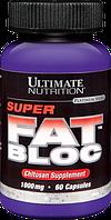 Супер Блокатор Жиров 1000мг, Ultimate Nutrition, 60 капсул