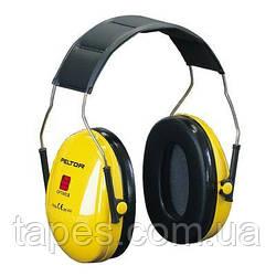 3M Peltor Optime I Противошумные наушники с оголовьем  желтые H510A-401-GU