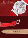Оригинальные женские часы SKMEI (СКМЕЙ) Elegant 9075 Red, фото 4