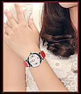 Оригинальные женские часы SKMEI (СКМЕЙ) Elegant 9075 Red, фото 5