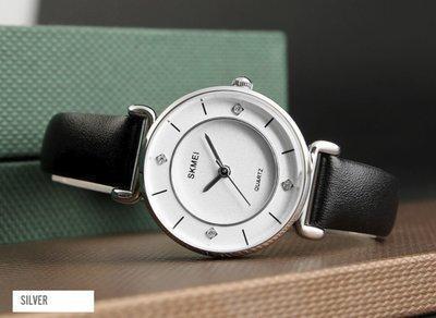 Оригинальные женские часы ! SKMEI (СКМЕЙ) BATTERFLY 1330 White Silver