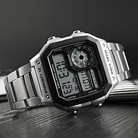 Классические часы Skmei(Скмей) Ripple Silver 1335