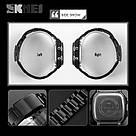 Классические  часы Skmei(Скмей) Ripple Black 1335, фото 5