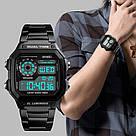 Классические  часы Skmei(Скмей) Ripple Black 1335, фото 6