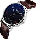 Классические часы SKMEI(СКМЕЙ) Braun blue ledi 9120, фото 2