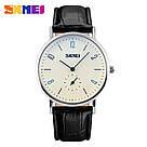 Классические мужские часы SKMEI(СКМЕЙ) Black white men 9120, фото 2