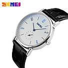 Классические мужские часы SKMEI(СКМЕЙ) Black white men 9120, фото 3