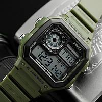 Оригинальные мужские часы  Skmei (Скмей) Green 1299