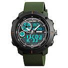 Cпортивные мужские часы Skmei (Скмей) 1361Green, фото 3