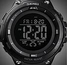 Спортивные мужские часы Skmei (Скмей)1441 Black, фото 5