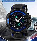 Cпортивные мужские часы Skmei (Скмей) 1040 Blue, фото 2