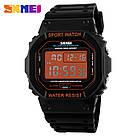 Оригинальные спортивные мужские часы Skmei (Скмей) 1134 Black Orange, фото 3