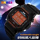 Оригинальные спортивные мужские часы Skmei (Скмей) 1134 Black Orange, фото 4