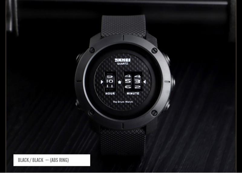 Cпортивные мужские часы Skmei (Скмей) 1486 Black