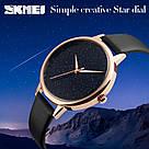 Оригинальные женские часы SKMEI (СКМЕЙ) MOON 9141 Black, фото 4