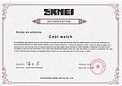 Оригинальные женские часы SKMEI (СКМЕЙ) MOON 9141 Black, фото 5