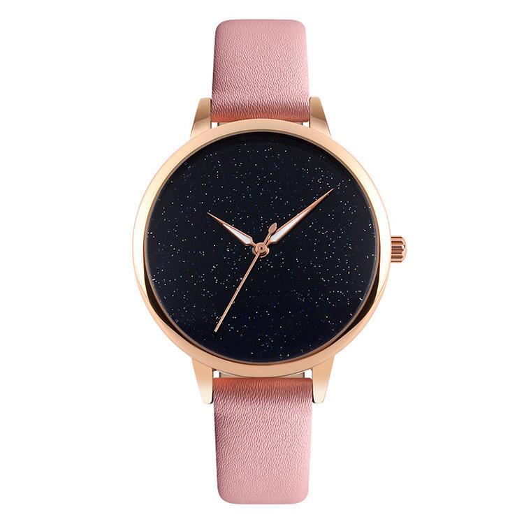 Оригинальные женские часы SKMEI (СКМЕЙ) MOON 9141 Pink