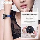 Оригинальные женские часы SKMEI (СКМЕЙ) MOON 9141 Blue, фото 4