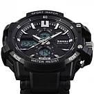 Тактические мужские часы Skmei(Скмей) 0990 RESIST Black, фото 4