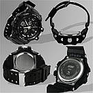 Тактические мужские часы Skmei(Скмей) 0990 RESIST Black, фото 5