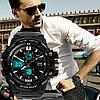 Тактические мужские часы Skmei(Скмей) 0990 RESIST Black, фото 6