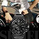 Тактические мужские часы Skmei(Скмей) 0990 RESIST Black, фото 7