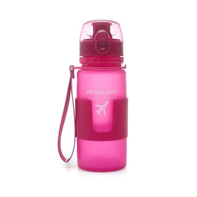 Силиконовая бутылка для воды
