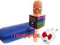 Беспроводной микрофон-караоке с светомузыкой, USB и Bluetooth WSTER L17 :, фото 1