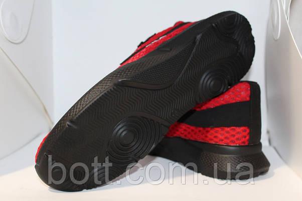 Кроссовки красные сетка, фото 2