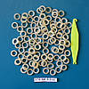 Эластичные латексные кольца ᴓ 4,77 мм для коррекции вросших ногтей. Супер Сильная тяга