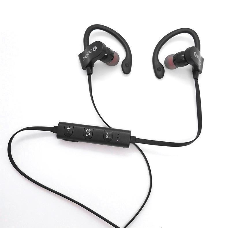 Беспроводные наушники RT-558 Bluetooth спортивные черный