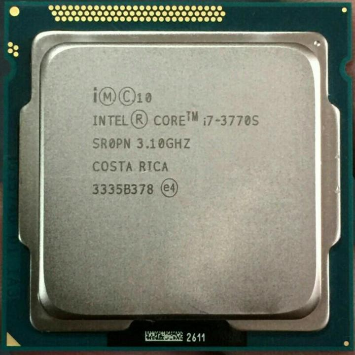 Процессор Intel Core i7-3770S 3.10GHz, s1155, tray
