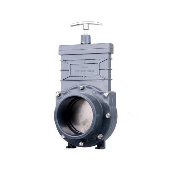 Задвижка для труб ПВХ 160 мм XClear