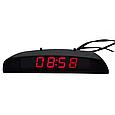Электронные автомобильные часы + температура + напряжение - КРАСНЫЙ ДИСПЛЕЙ, фото 2