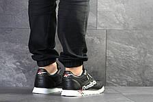 Мужские кроссовки Reebok,черно- белые, фото 3