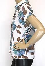 Нарядна жіноча шифонова блуза, фото 2