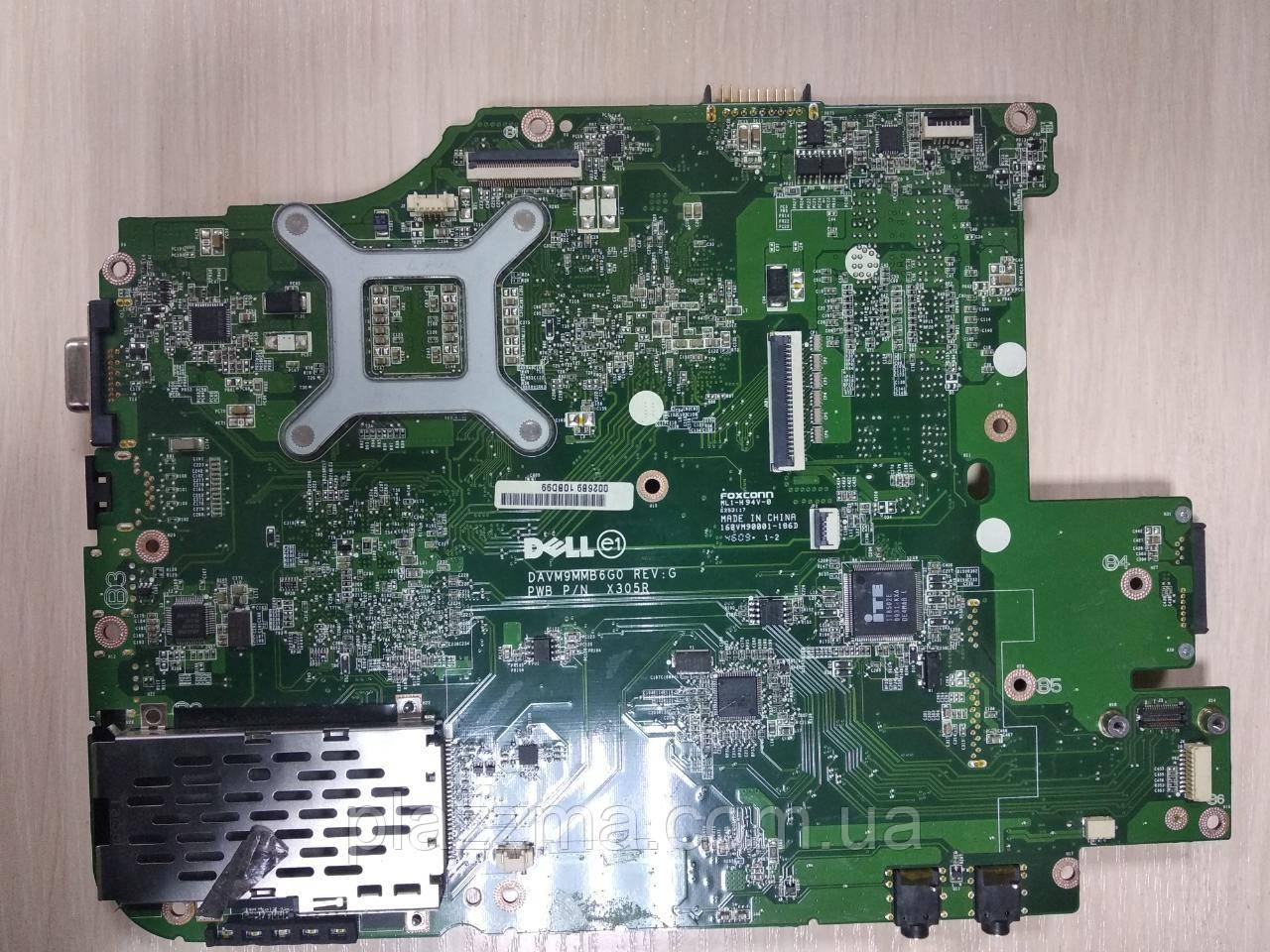 материнская плата Dell x305r на запчасти