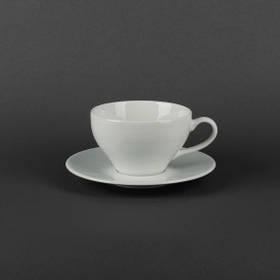 Чашка чайная с блюдцем 300мл Lubiana ПАУЛА 1728/1723
