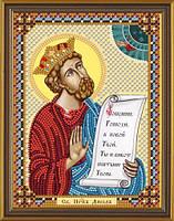 Набор для вышивки бисером Св. Царь и Пророк Давид С 6114