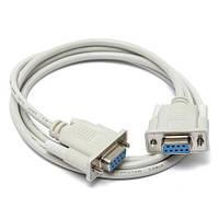 Модемный кабель RS232 DB9 COM мама-мама 1.4м