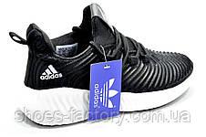 Женские кроссовки в стиле Adidas Originals Alphabounce Instinct, White\Black, фото 3