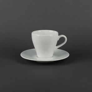 Чашка с блюдцем фарфоровая 300мл Lubiana ПАУЛА 1790/1723