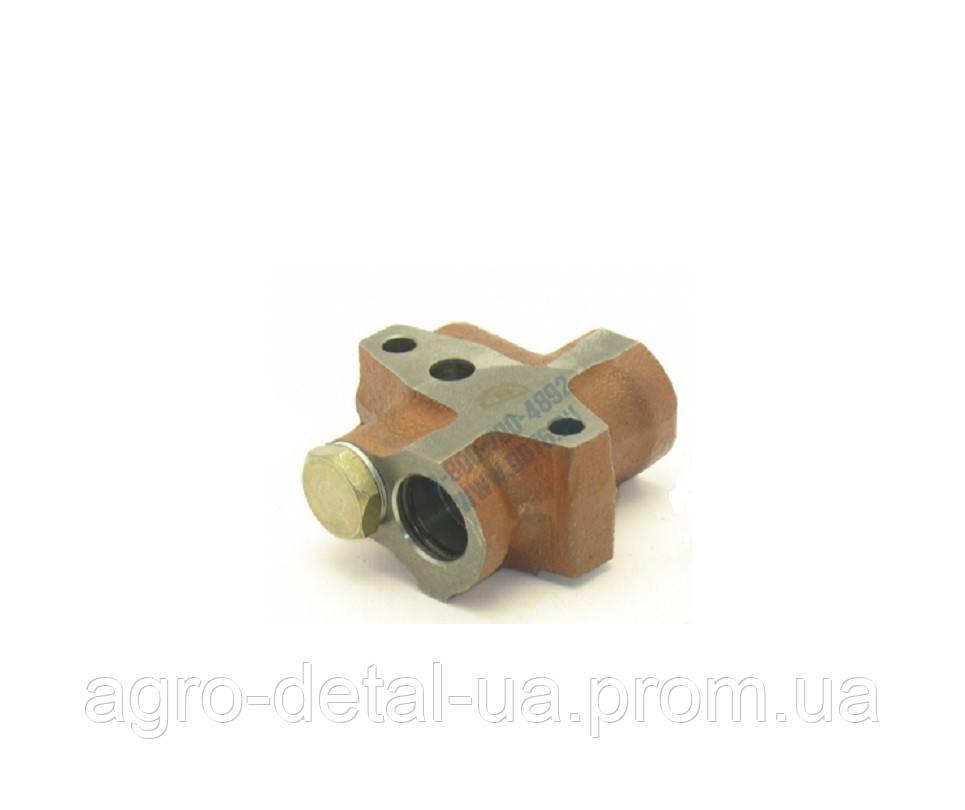 Клапан регулировочный 240Н-1011268-Б системы охлаждения в сборе двигателей ЯМЗ 240Н,ЯМЗ 240