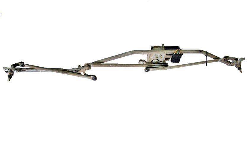 Трапеция (рычажный механизм) переднего стеклоочистителя в сборе с мотором (электродвигателем) GM 1274140 12730