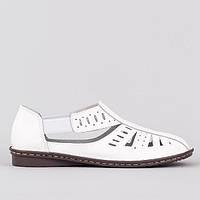 Мокасины большие размеры Allshoes 1891-3 WHITE , фото 1