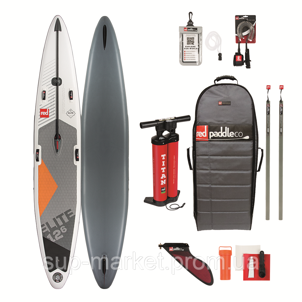 """SUP доска Red Paddle Co Elite 12'6"""" x 26"""", 2019"""