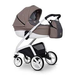 Детская коляска универсальная 2 в 1 Riko XD 02 capuccino (Рико, Польша)