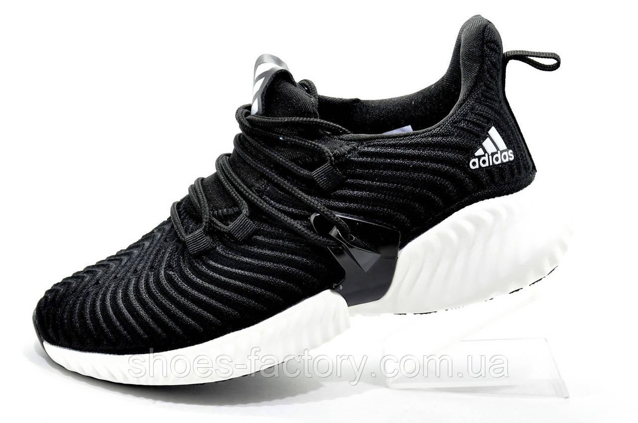 Мужские кроссовки в стиле Adidas Originals Alphabounce Instinct, White\Black